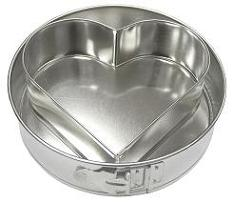 Springform pan with insert HEART